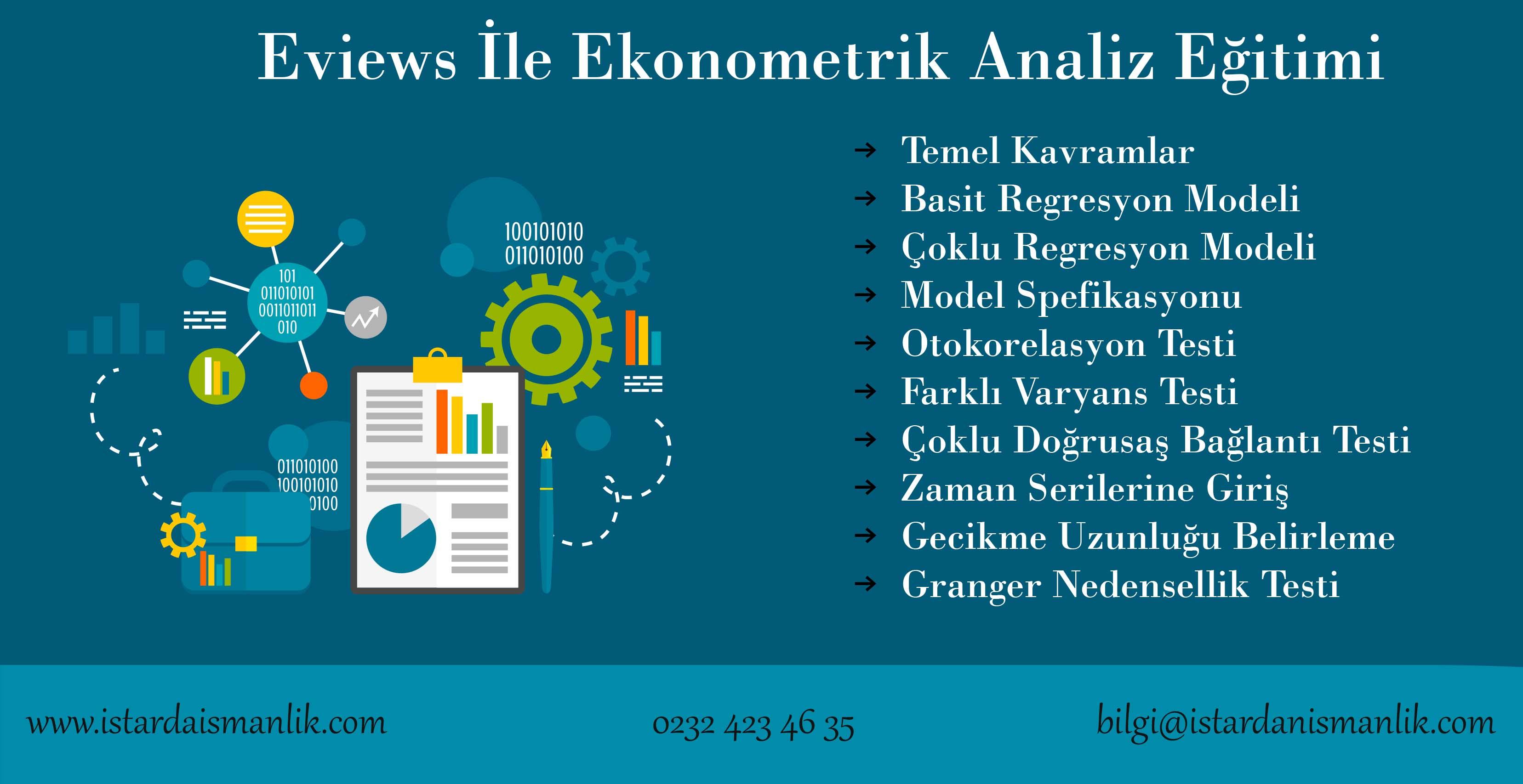 eviews ekonometrik analiz eğitimi